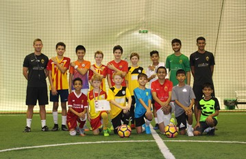 A fantastic football Summer Camp over 3 weeks with fitness, tactics, competitions, matches and lots of football fun!