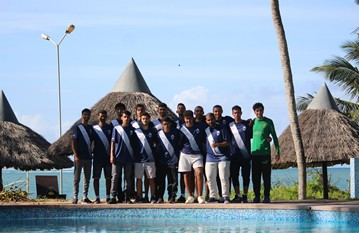 A brilliant trip for our senior men's team to Kenya. They visited an orphanage and school supporting local kids in the community, playing friendly games against local opposition and relaxed on a safari in one of Kenya's largest animal reserve.
