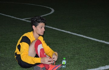 Teams from over Abu Dhabi came to play a competitive tournament at Al Yasmina'