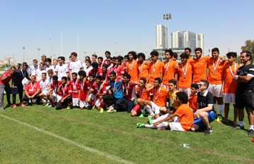 A win after penalties and a final battle against Al Ethiad, our U18s had a great Rotana Cup run'