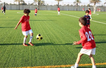 Academy training for players 3-18 years