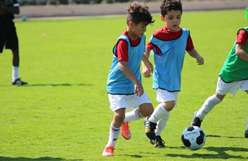 A fun tournament in Mushrif Central park for our U8's'