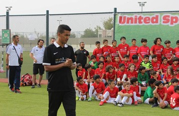 A trip to Al Ain with our U8 and U10 squads to visit the Al Ain Zoo and play a string of friendly games against United Sports Academy'