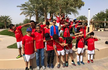Friday 23rd February Al Ain Trip 2018  The U8s and U9s started their Friday morning off with an exciting trip to the Al Ain Zoo. After have their lunch with the leopards, gazelles and hippos they then jumped back on the bus and headed to the Al Ain Football Festival. The boys competed with teams from all over Al Ain and played some great football. A great day in Al Ain for the players, one to remember for the season 2017/18!!