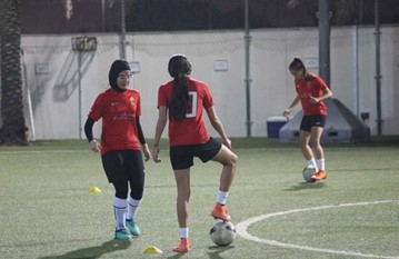 Girls Training